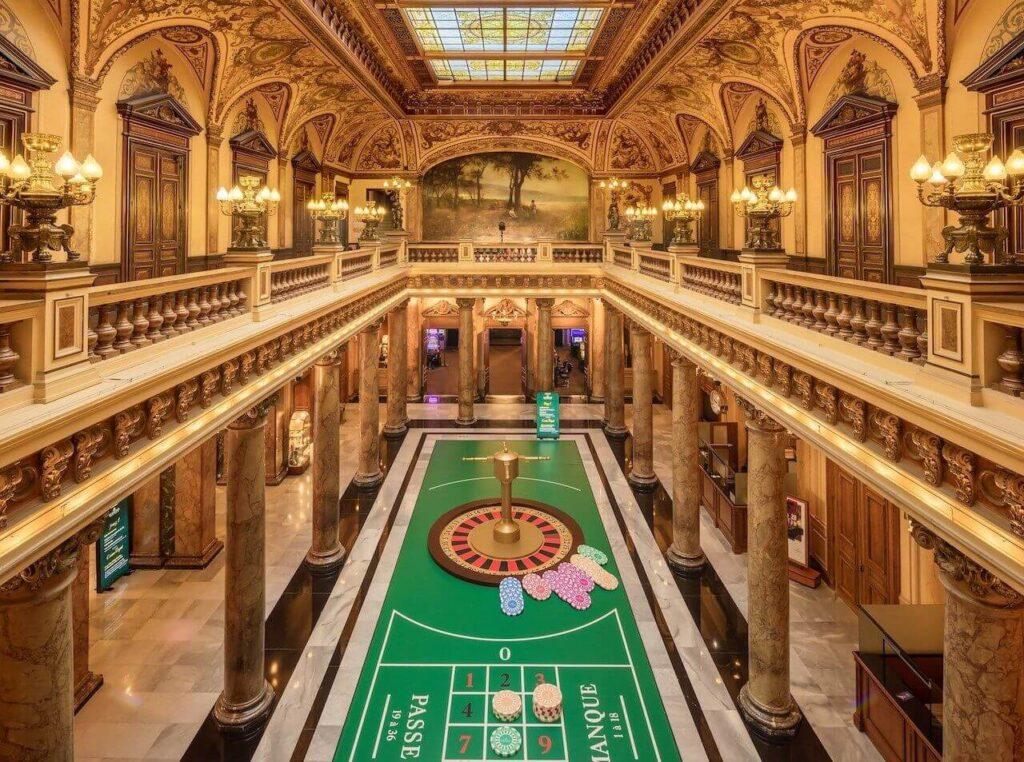 monte carlo roulette table