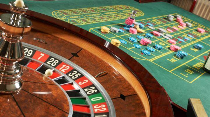 roulette at a live casino