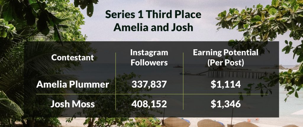 Amelia and Josh instagram