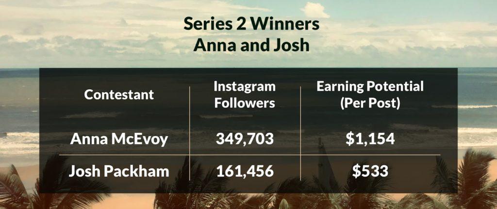 Anna and Josh instagram