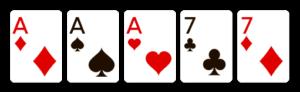 full house Online Video Poker