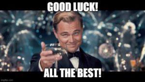 good luck Bankroll