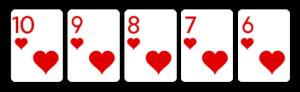 straight flush Online Video Poker