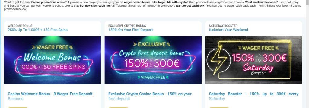 VEGAS CASINO bonuses Vegaz Casino Review