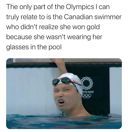 swimmer meme 10 Funniest Moments from the 2020 Tokyo Olympics
