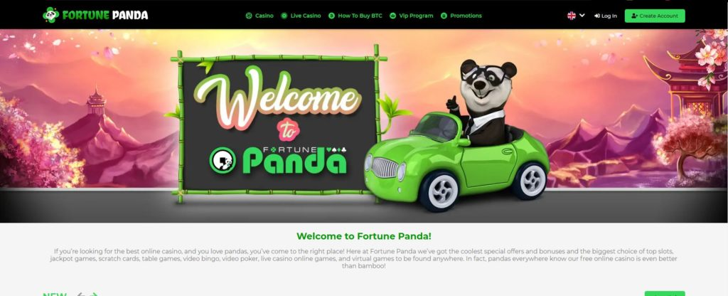 FORTUNE PANDA HOME PAGE