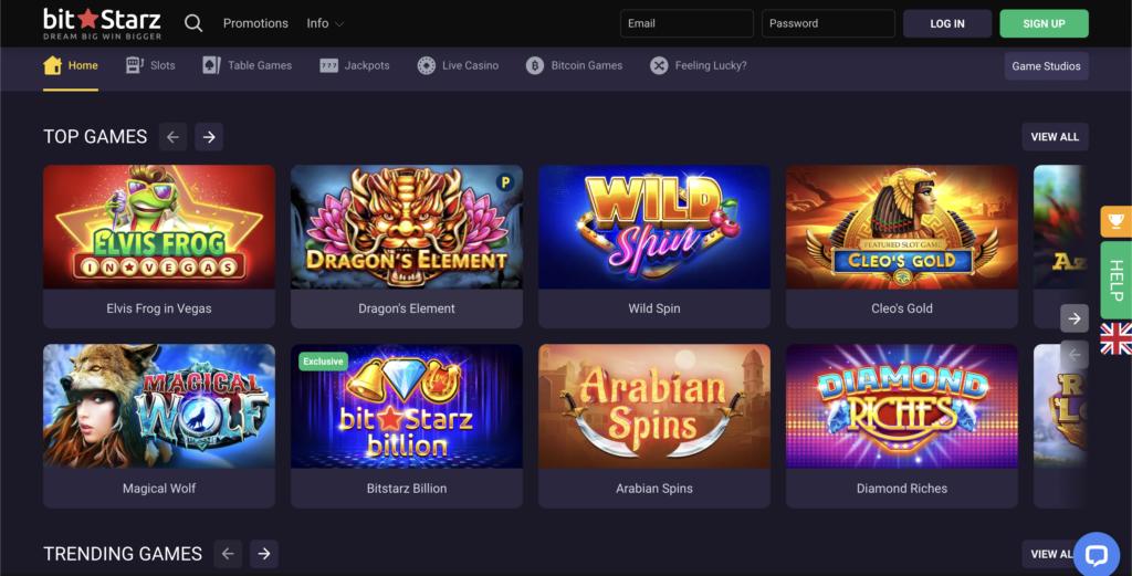 bitstarz homepage BitStarz Casino Review