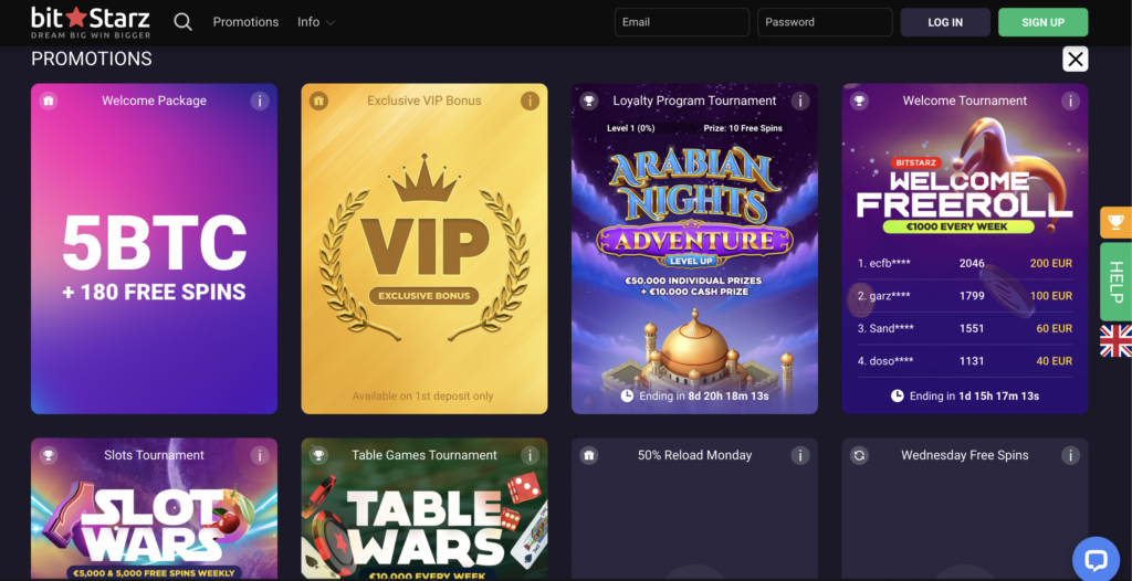 bitstarz promotion page BitStarz Casino Review