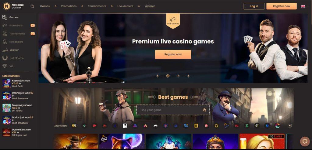 national casino homepage National Casino Review