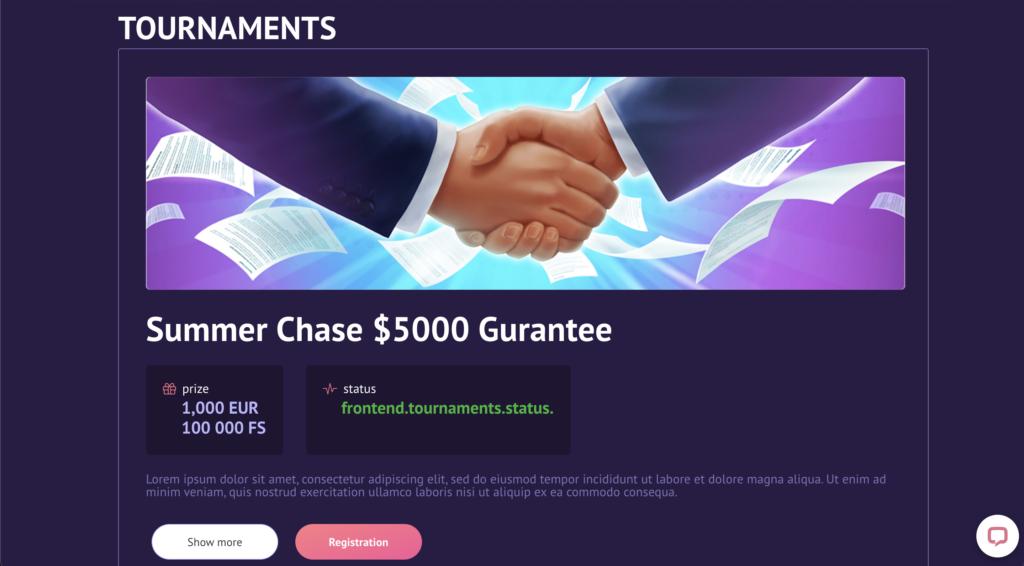 slotum tournaments page