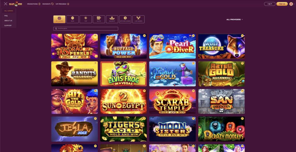 slotvibe games page