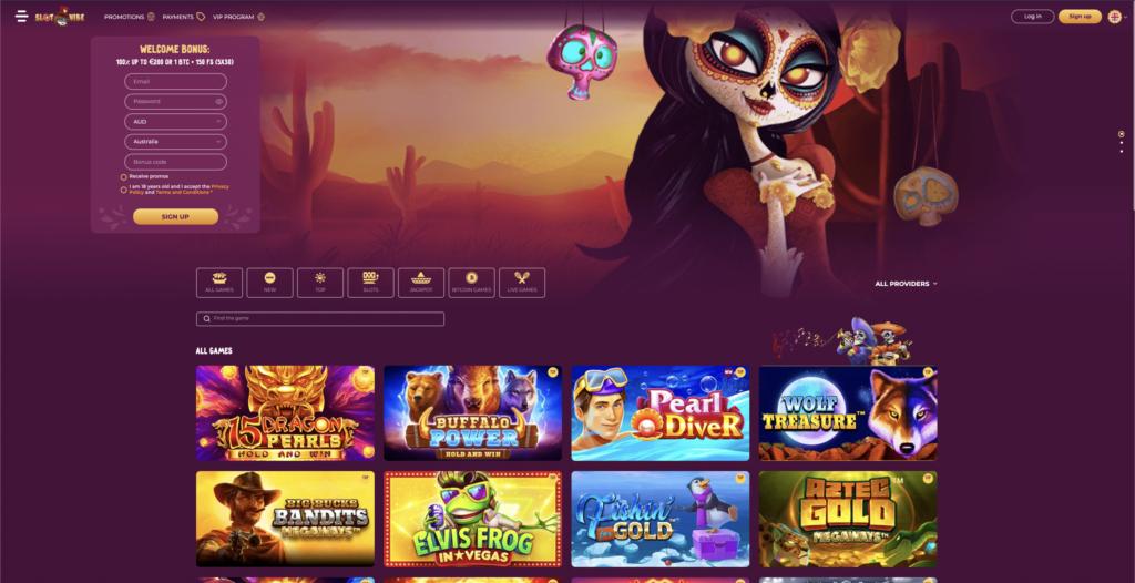 slotvibe homepage