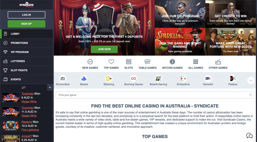 Syndicate-casino-homepage
